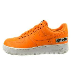 Nike Air Force 1 LV8 Just Do It Leather Sneakers